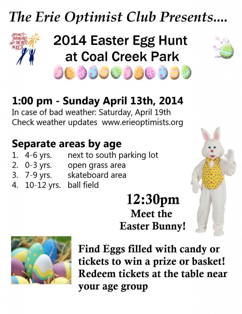 2014 Easter Hunt Flyer 1