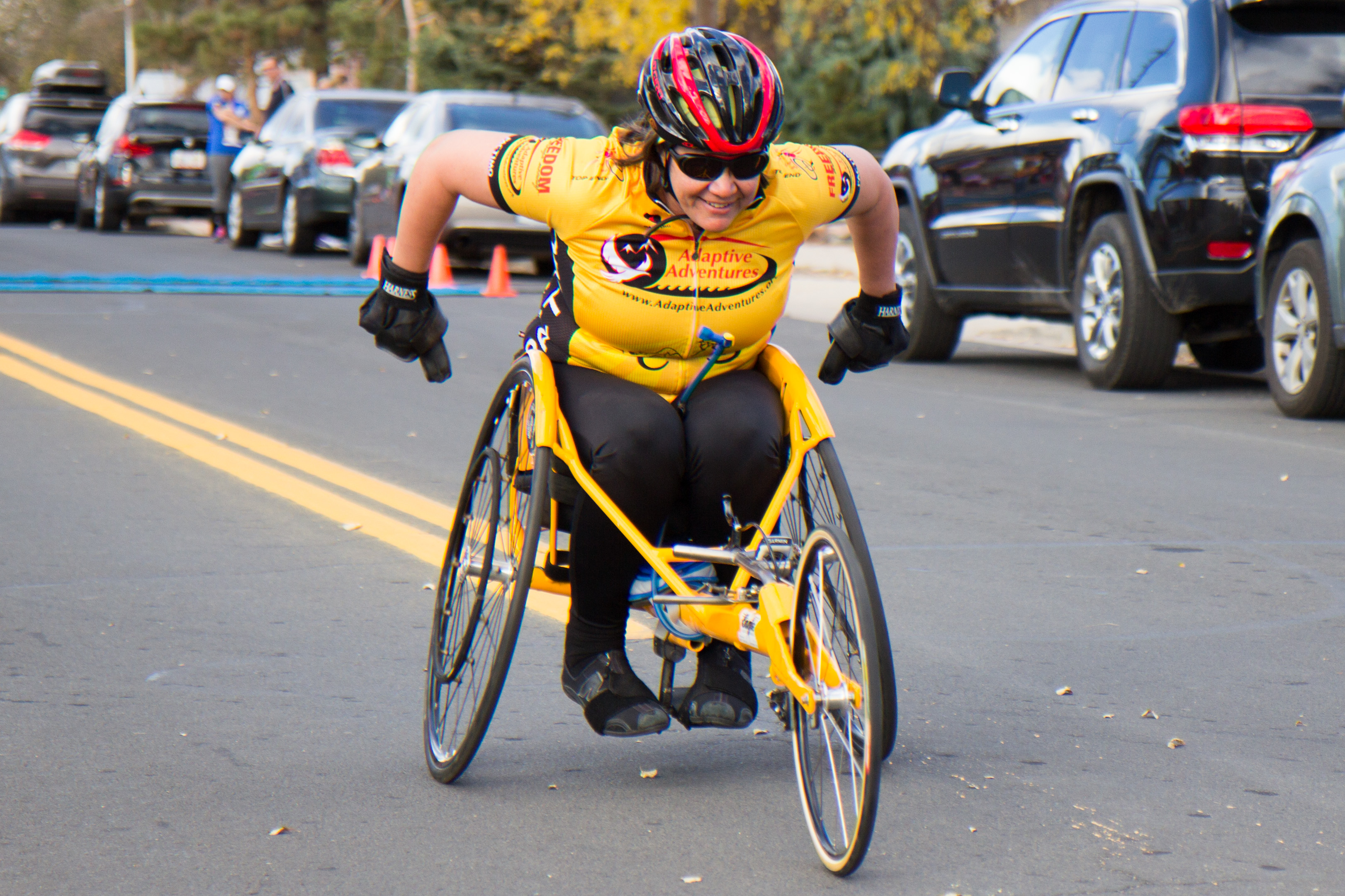 The winner of our wheelchair category