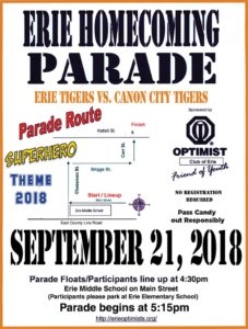 2018 Homecoming Parade